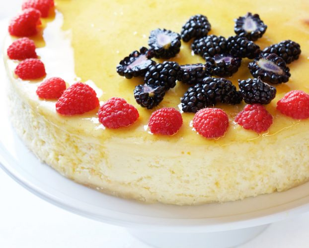 Light and Creamy Cheesecake (Photo by Deb Lindsey For The Washington Post).