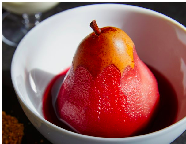 Poached Pear Photo by John Kernick